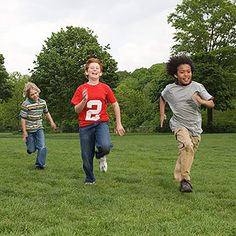 Get your kids running, skipping, and balancing with these fun fitness challenges from @Phyllis Simons Garcia magazine .