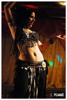 Tribal gothic belly dance