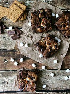 S'moreo Brownies #smores #brownie #inspirationmonday