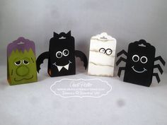 Scallop Tag Topper candy monsters