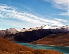 Yamdrok Tso (Turquoise) Lake, Tibet  | China photo