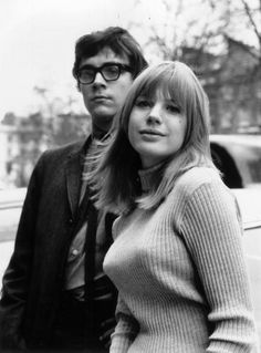 Marianne Faithfull couple