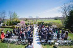 Spring wedding at Th