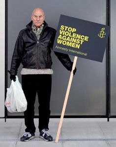 Live long and prosper and stop violence against women.