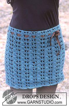 """""""crochet mini skirt pattern via 20 Popular Free #Crochet Skirt Patterns for Women"""""""