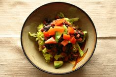 Quinoa Black & Red Bean Burrito Bowl - Virgin Diet
