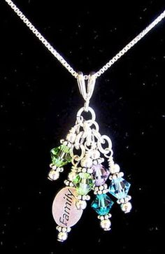 Birthstone Mothers Jewelry