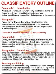 Classificatory Outline by The Writing Doctor, via Flickr