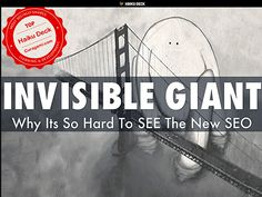 Invisible Giant: Why New SEO Is Hard To SEE sneaks past 3,000 views. Have you seen it? via @HaikuDeck