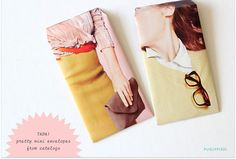 Gift envelopes made from your favorite magazines!