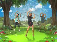Just Dance Kids 2 - Itsy Bitsy Spider (Wii Rip) Fun brain break for spider week!