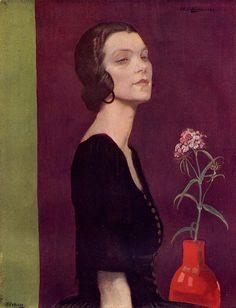 Anna Katrina Zinkeisen    Title unknown (c. 1922) by Anna Katrina Zinkeisen.   papozao