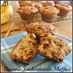 Banana Snickerdoodle Muffins