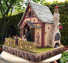 Karin Caspar: Gingerbread cottage