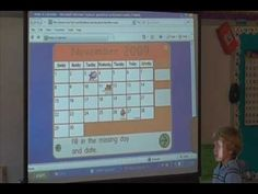 Morning Meeting using the SMART Board Part 1