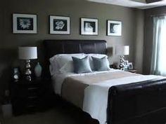 wall colors, grey bedrooms, headboard, color schemes, dark walls, bedroom colors, lamp, paint colors, master bedrooms