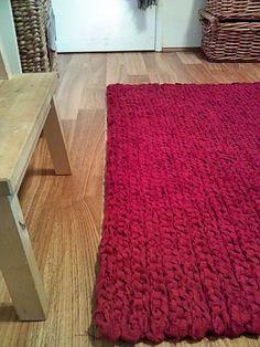 Giant Crochet Floor Rug
