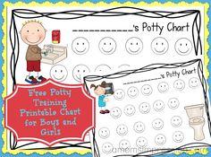 Free Potty Chart Printable