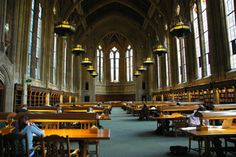 Suzzallo Library at the University of Washington in Seattle.