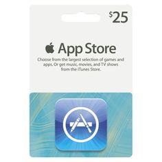 Apple iTunes App Store Gift Card,So many apps...I have made a wish list of apps....