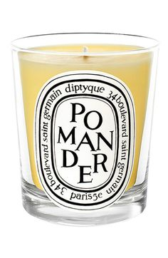 "For the Hostess: Diptyque ""Pomander"" candle, $60, at Nordstrom.com: ""This is my go-to to hostess gift. It smells amazing and lasts a long time."""