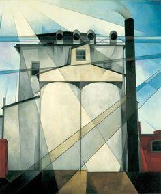 Charles Demuth, My Egypt, 1927 - American Cubism