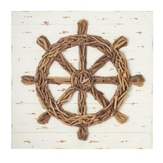 Driftwood Ships Wheel.
