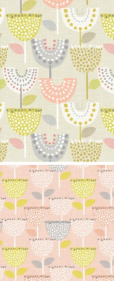 wendy kendall designs – freelance surface pattern designer » linen tulip