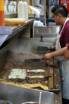 Cheesesteak Rivalry: Dalesandro's Versus Chubby's   Mountain of beef at Dalessandro's.