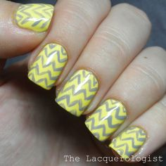 The Lacquerologist: 31DC13: Day 3 - Yellow Nails