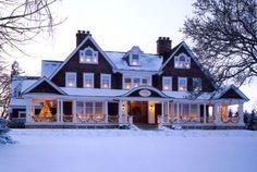 cozy winter, dream homes, snow, future house, winter wonderland