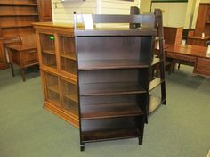 Jacobsville Bookcase - eclectic - bookcases cabinets and computer armoires - columbus - Geitgey's Amish Country Furnishings