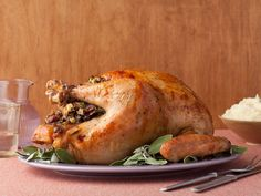 Turkey with Stuffing from FoodNetwork.com