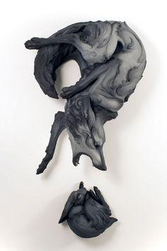 The Question That Devours - Beth Cavener Stichter - Past Exhibitions - Claire Oliver