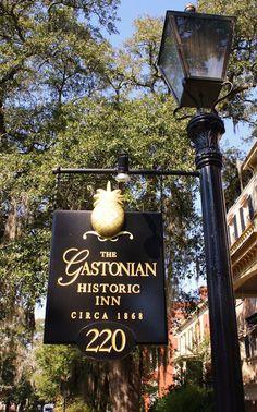 Gastonian, Savannah GA