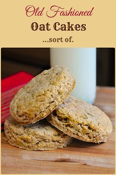 Old Fashioned Oatcakes - Perfect for quick breakfasts or packed lunches, these old fashioned oatcakes can be made plain or with lightly spiced flavour.