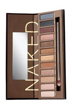 Naked Palette. I need to use this pallet more! All the colors are beautiful.