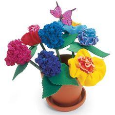 Flowerpot Pencils, A Fun Idea For Kids! Follow Directions On Website For Some Fancy Pencils. (:
