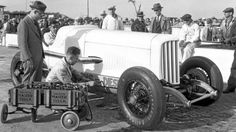 The Cummins Diesel Special at the 1931 Indy 500.
