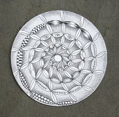 Sue's tangle trips: Bale me out! Monotangle by Sue Jacobs, Certified Zentangle Teacher
