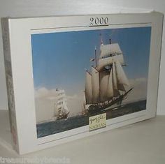 Sailing enthusiasts will love this Oosterswchelde tall-ships themed, 2000 piece jigsaw puzzle by Nathan. #tallships #sailing #puzzles