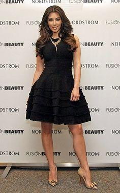 Black dress nude shoes on pinterest nude shoes little black dresses