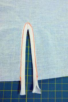 New #sewing tutorial on BurdaStyle: Binding Sleeve Vents