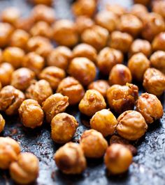 Spicy Oven-Roasted Chickpeas - YUM!!!!!!
