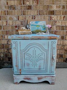 Coastal Country Cottage  Upcycled  Vintage  by TimelessNchic, $49.95