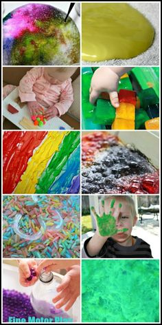 25 Sensory activities for kids - sensory play and learning