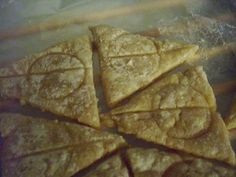 Deathly Hallows Cookies recipe.