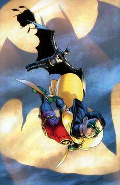 Frank Quitely, Batman and Robin.