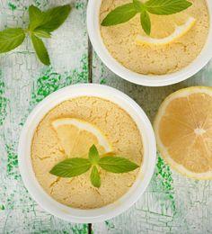 Lemon Pudding Cake - PrimallyInspired.com