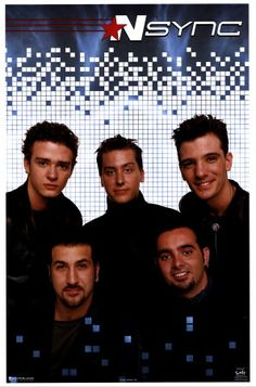 N'Sync - Had this poster hanging in my room :)
